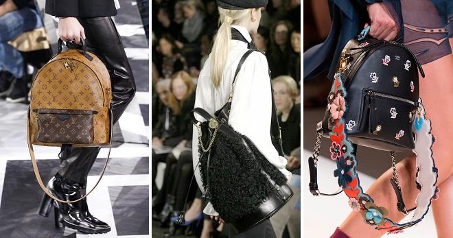 Модные рюкзаки 2018 для девушек – самые модные модели и цвета нового сезона