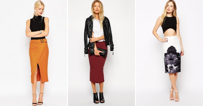 Классическая юбка – 132 фото модных образов на любой вкус