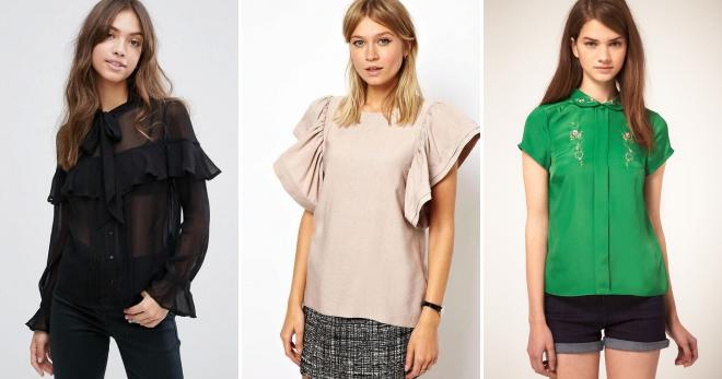 ebd35d39de14 Красивые блузки – женские из шифона, с кружевом, для полных, офисные ...