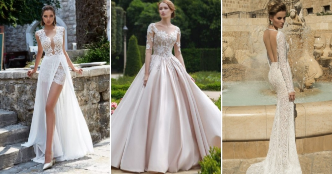 6fbeeabdcf0 Красивые свадебные платья – 52 фото самых красивых нарядов на любой вкус