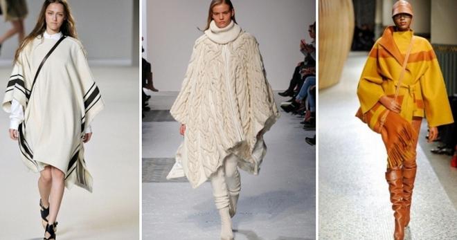 Женские пончо – 46 фото самых модных моделей и с чем их носить?