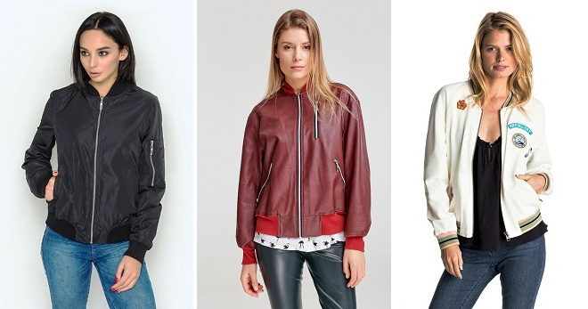 Женский бомбер – с чем носить и как создавать модные образы?