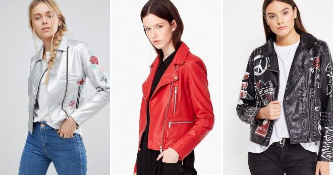 9db3121a02c Модные кожаные куртки – 147 фото самых модных фасонов этого сезона