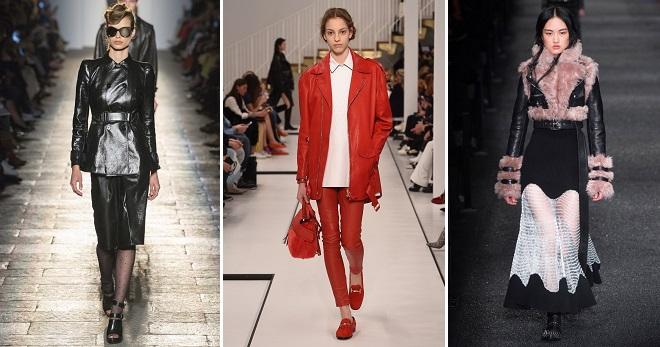 С чем носить кожаную куртку – 84 фото модных образов с кожаной курткой