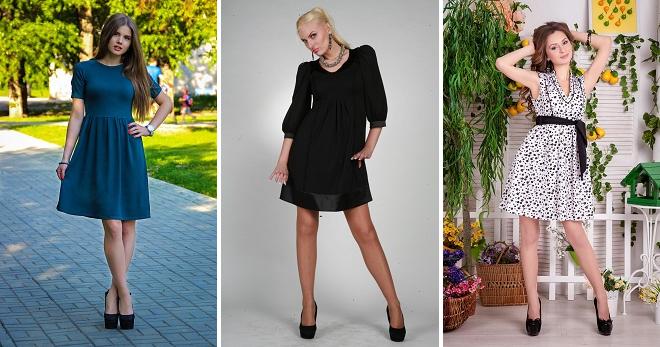 Платье с завышенной талией – кому идет, с чем носить и как создать модный образ?
