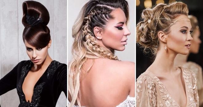 Прически на выпускной 2018 – модные тенденции на длинные, средние и короткие волосы