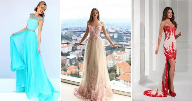 80c6753cc795c65 Вечерние платья: фото, правила выбора, популярные модели - Геометрия ...