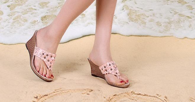 Обувь для пляжа – модели летней пляжной обуви для отдыха, вечеринок и свадьбы
