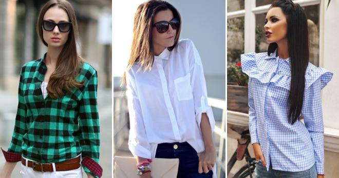 c0fe3511c9d4ece Модные женские рубашки – молодежные, джинсовые, оверсайз, в полоску ...