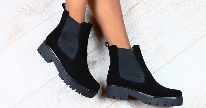 Замшевые ботинки – с чем носить зимние и демисезонные модели для женщин?