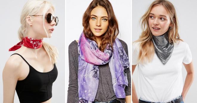 Шейный платок – как выбрать, с чем носить и как стильно завязывать?