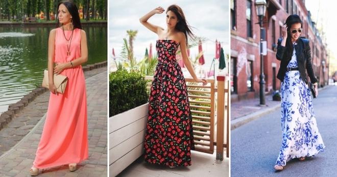6efd6636449 Длинные повседневные платья – лучшие фасоны на каждый день для любого типа  фигуры