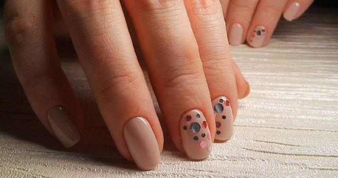 Нюдовый маникюр 2018 – модные тенденции для коротких и длинных ногтей