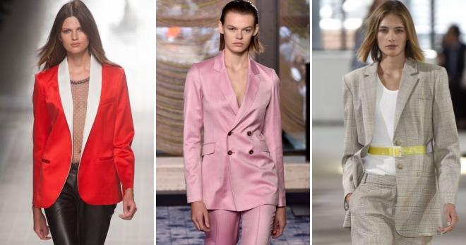 f35c9592b609b0e Модные женские пиджаки 2018 – с чем носить и как создавать модные образы?
