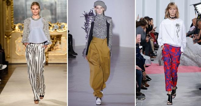 Женские летние брюки – модные тенденции для девушек и женщин