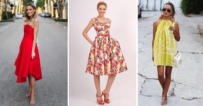 Платья из хлопка – модные модели на лето для девушек и женщин