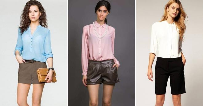 Классические шорты – как создавать модные образы на каждый день?
