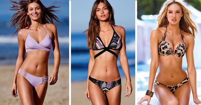Купальники Виктория Сикрет – 38 фото лучших моделей от всемирно известного  бренда 0a1ca0e23ec3e