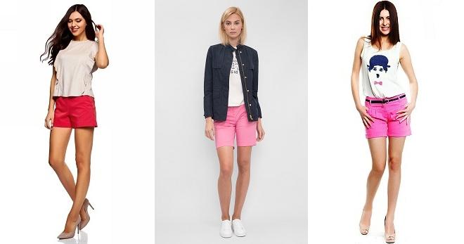 Розовые шорты – 28 фото лучших летних образов для девушек и женщин