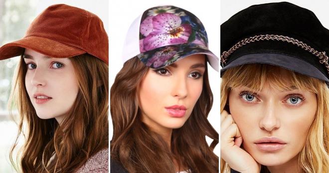 Женские кепки 2018 – какие в моде и как создавать стильные образы  dddf123548aed