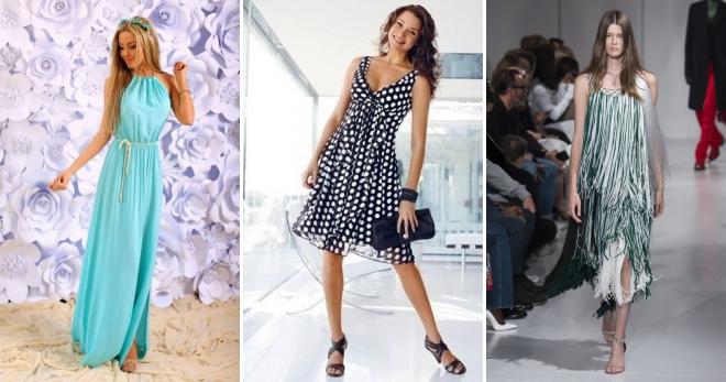 Сарафаны на лето 2018 – модные новинки для девушек и женщин