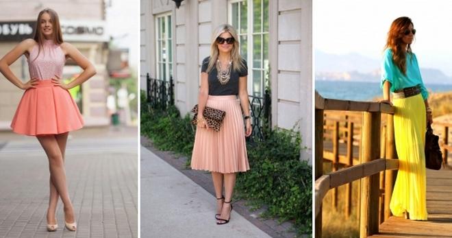 Летние юбки – длинные, короткие, миди для любой женской фигуры