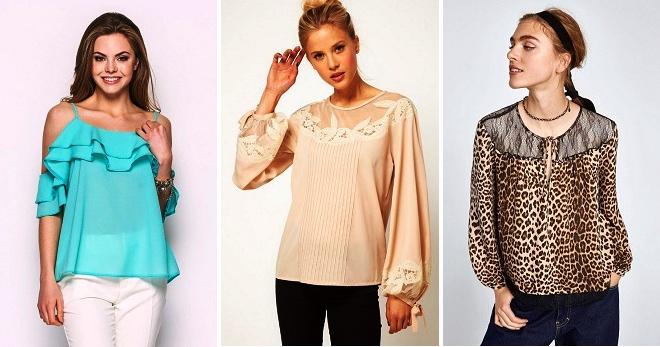 Модные блузки – лето 2018 – тенденции и тренды для жаркого сезона