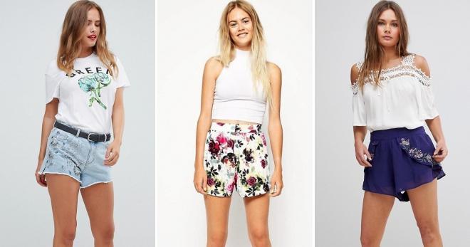 dd6e1672891a Модные женские летние шорты – классические, длинные, короткие ...