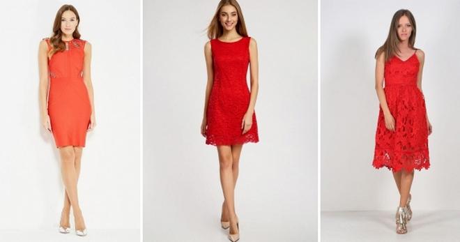 ab373673ebb Красное летнее платье – 30 фото модных фасонов для любой женской фигуры