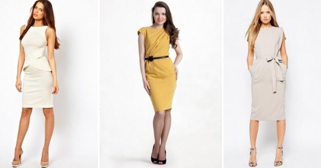 8036869ee62 Летние офисные платья – модные деловые фасоны для девушек и женщин