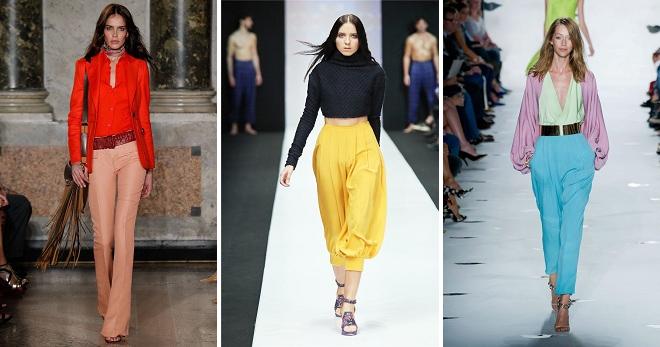 Летние брюки 2018 года – модные тенденции жаркого сезона для девушек и женщин