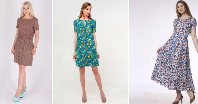 Штапельные платья – 56 фото длинных и коротких фасонов на все случаи жизни