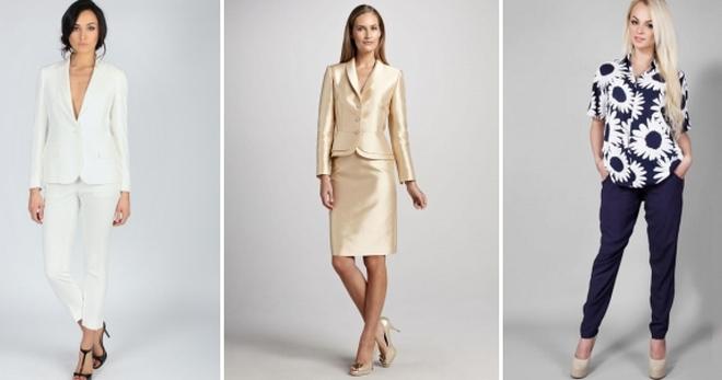 c7d3e014d47 Летние костюмы для женщин – 56 фото моделей на любой вкус