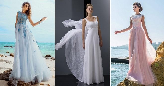Летние свадебные платья – 58 фото моделей для самых модных невест