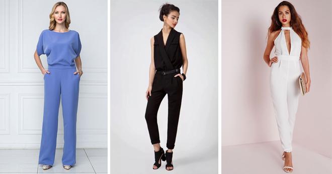 Женский классический комбинезон – с чем носить девушкам и женщинам, чтобы оставаться в тренде?