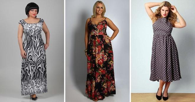 0d04e29ac449 Летние сарафаны для полных женщин – красивые фасоны, модели ...