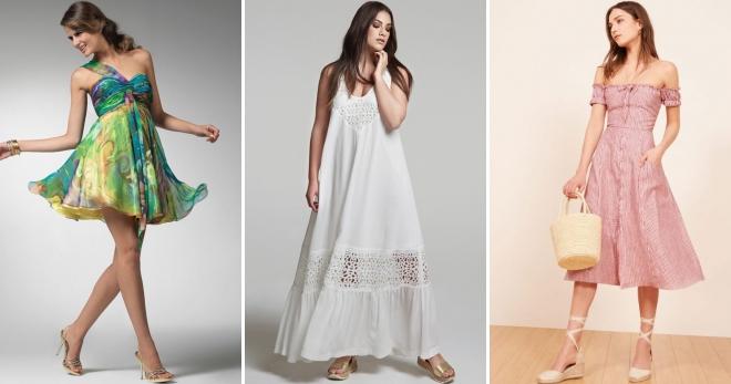 26c3e2cda Женские красивые сарафаны – длинные, короткие, миди, с открытой ...