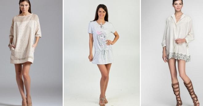 ac6e6ebf4ff Bílá tunika - pohodlné a praktické oblečení pro horké léto