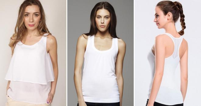 96ec7c67568e6 Белая майка – с чем носить и как создавать модные образы в новом сезоне?