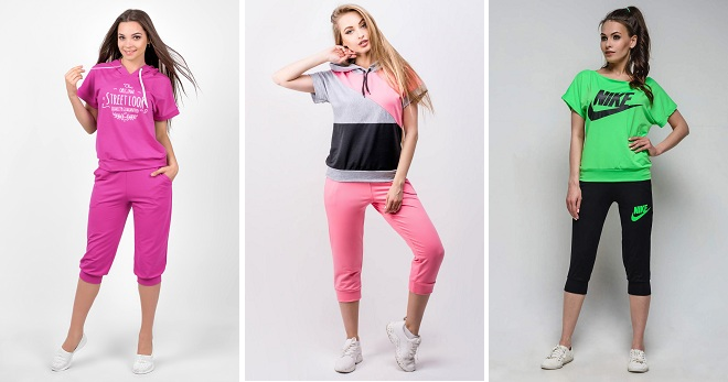 6ee0c02f9434 Женские летние спортивные костюмы – в чем тренироваться и отдыхать в жару
