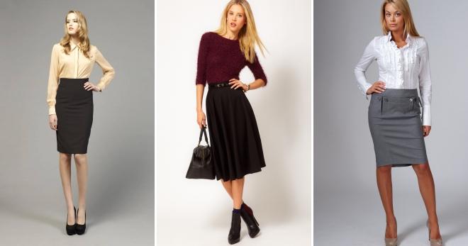 Юбка с высокой талией – с чем носить и как создавать модные образы?