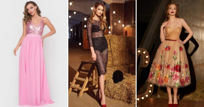 a705ec2e9ea7790 Летние вечерние платья – 62 фото стильных моделей для женщин всех возрастов