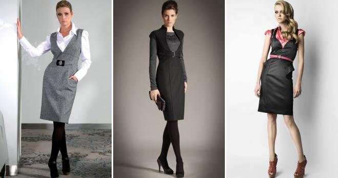 bf48611db47 Деловой сарафан – правила создания идеального образа для бизнес-леди