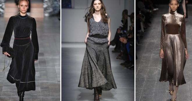 50db0327d0f6e6e Модные платья осень-зима 2018-2019 – тенденции, тренды, поведневные ...