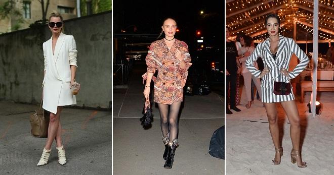 76efd00f466 Платье-пиджак – как правильно носить