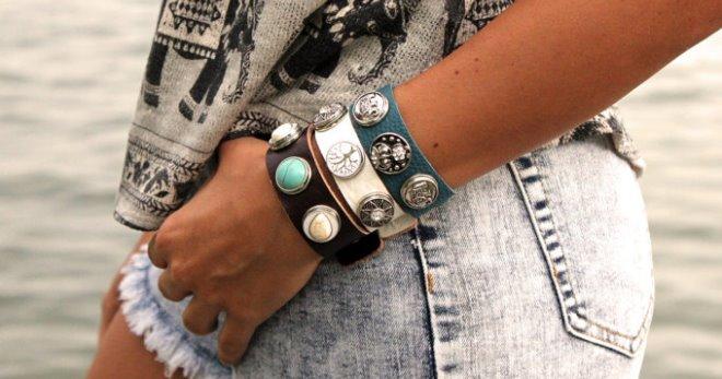 Модные браслеты – 42 фото стильных решений от известных брендов