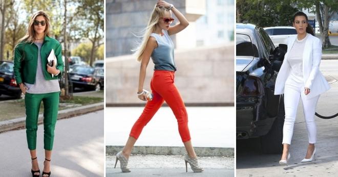 Короткие брюки – правила создания модного образа для любого сезона