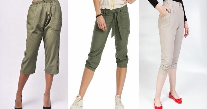 Женские бриджи – модный и удобный предмет гардероба для любого случая