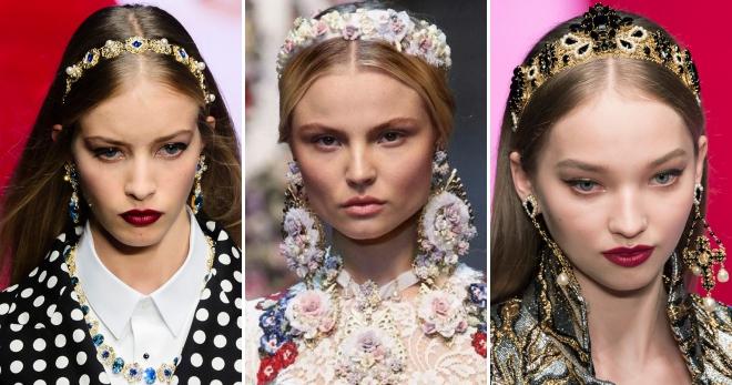 Ободок для волос – стильный женский аксессуар для причесок на каждый день и вечерних выходов