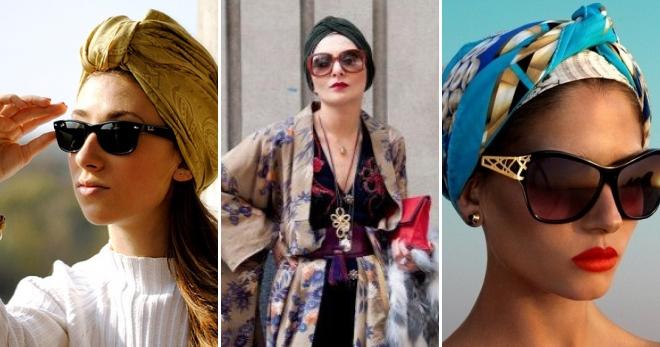 Turban - pourquoi porter et comment nouer pour avoir l'air élégant?